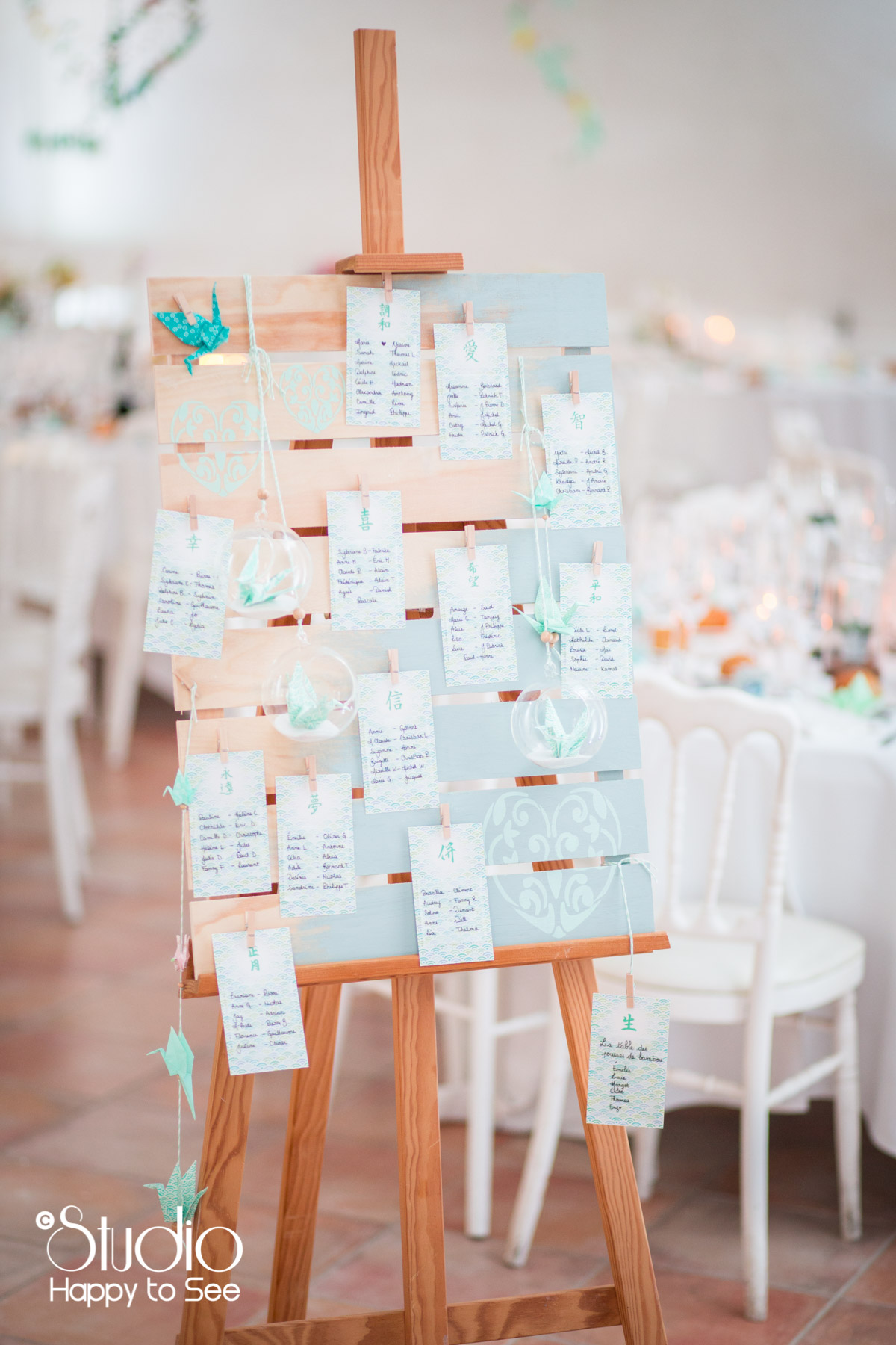 plan de table mariage decoration