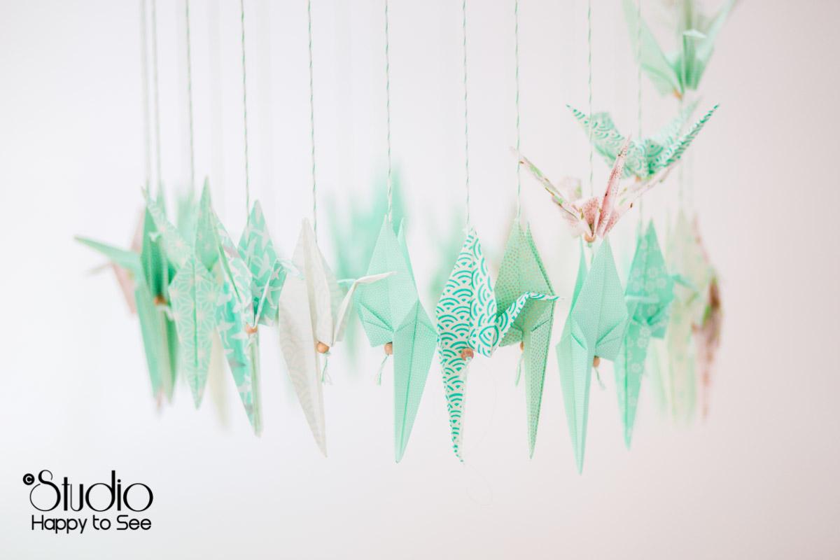 Origamis decoration mariage