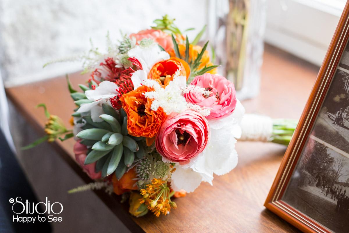 Reportage Mariage domaine les jardins de ronsac bouquet de fleurs