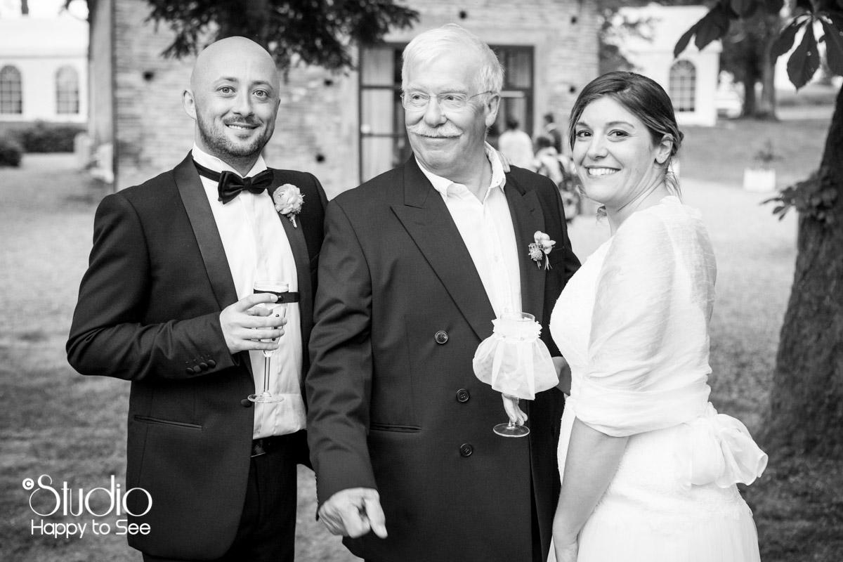 Reportage Mariage vin d'honneur Domaine les jardins de ronsac