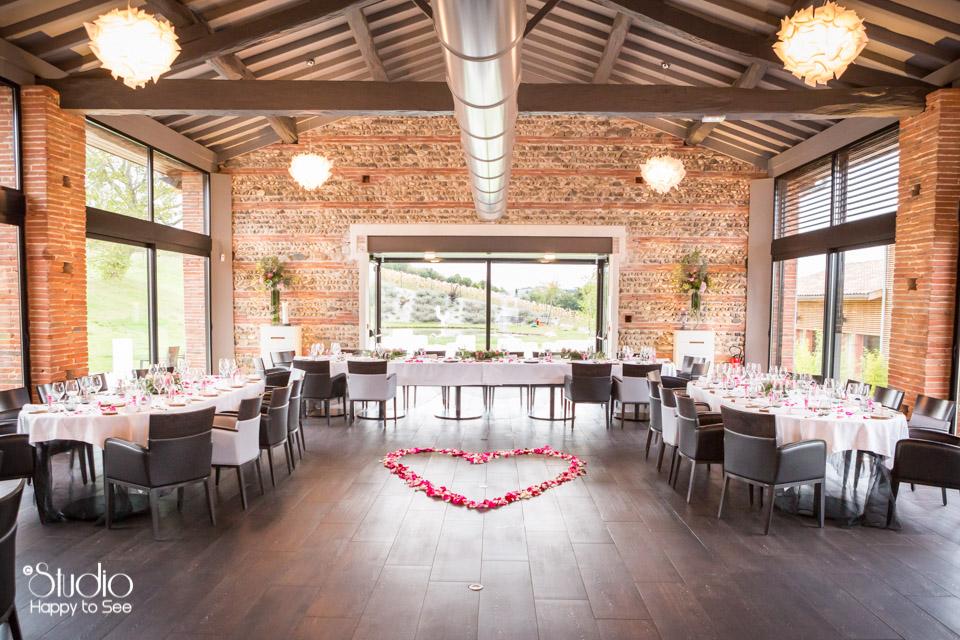"Mariage au Restaurant gastronomique ""En Marge"" Franck Reminel"