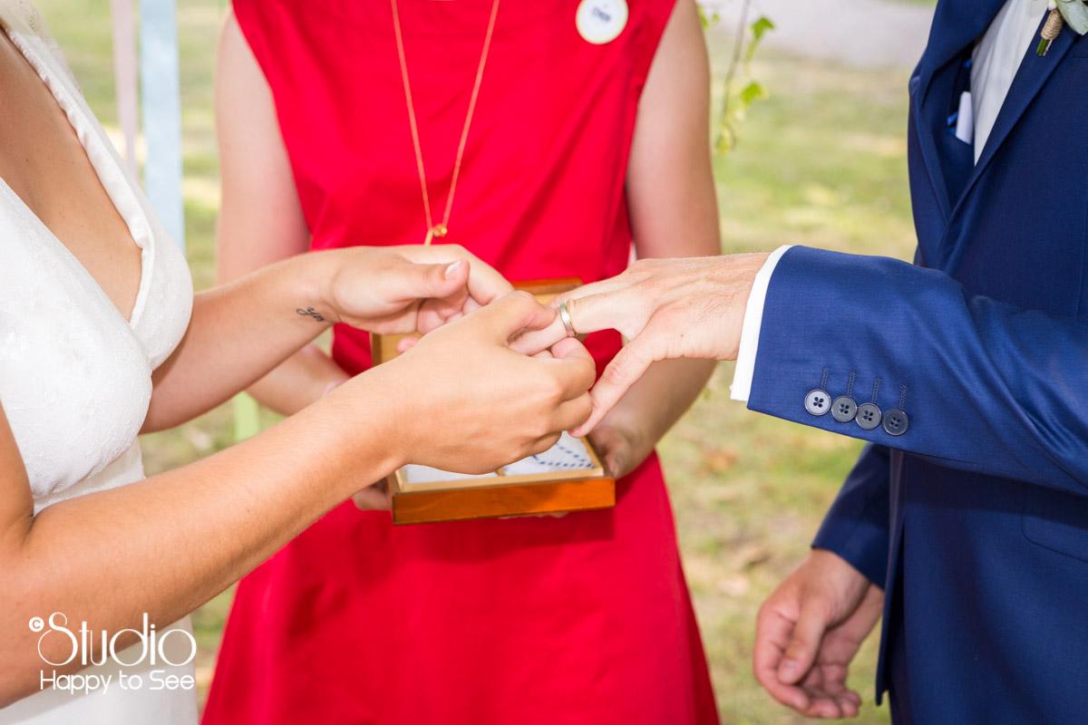 Ceremonie laique Mariage au chateau de saint gery