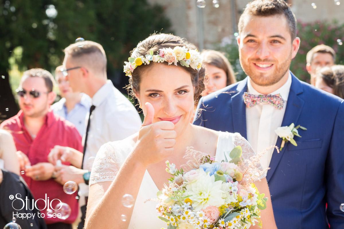 Ceremonie de Mariage au chateau de saint gery