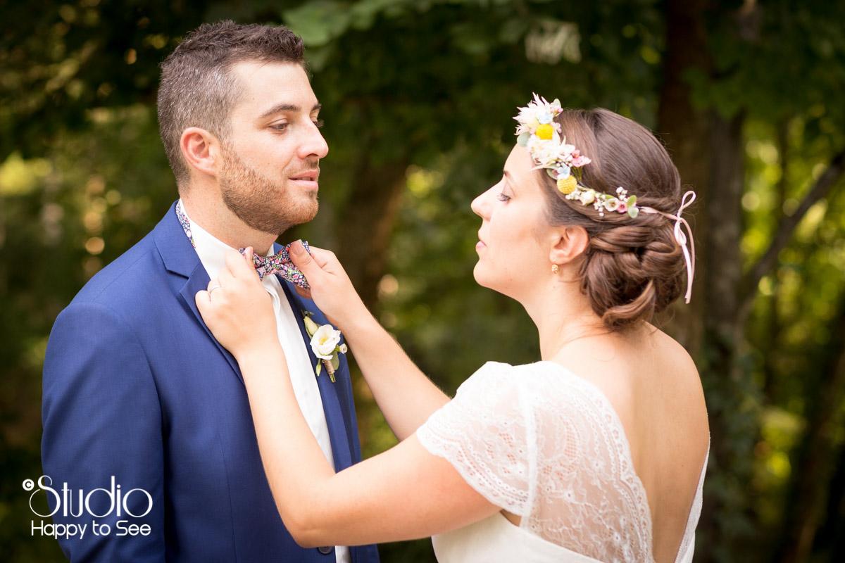 Mariage champetre dans le Tarn