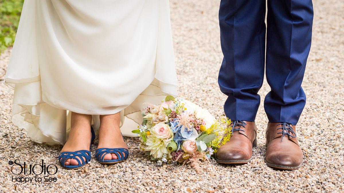 Mariage champetre au chateau de saint gery