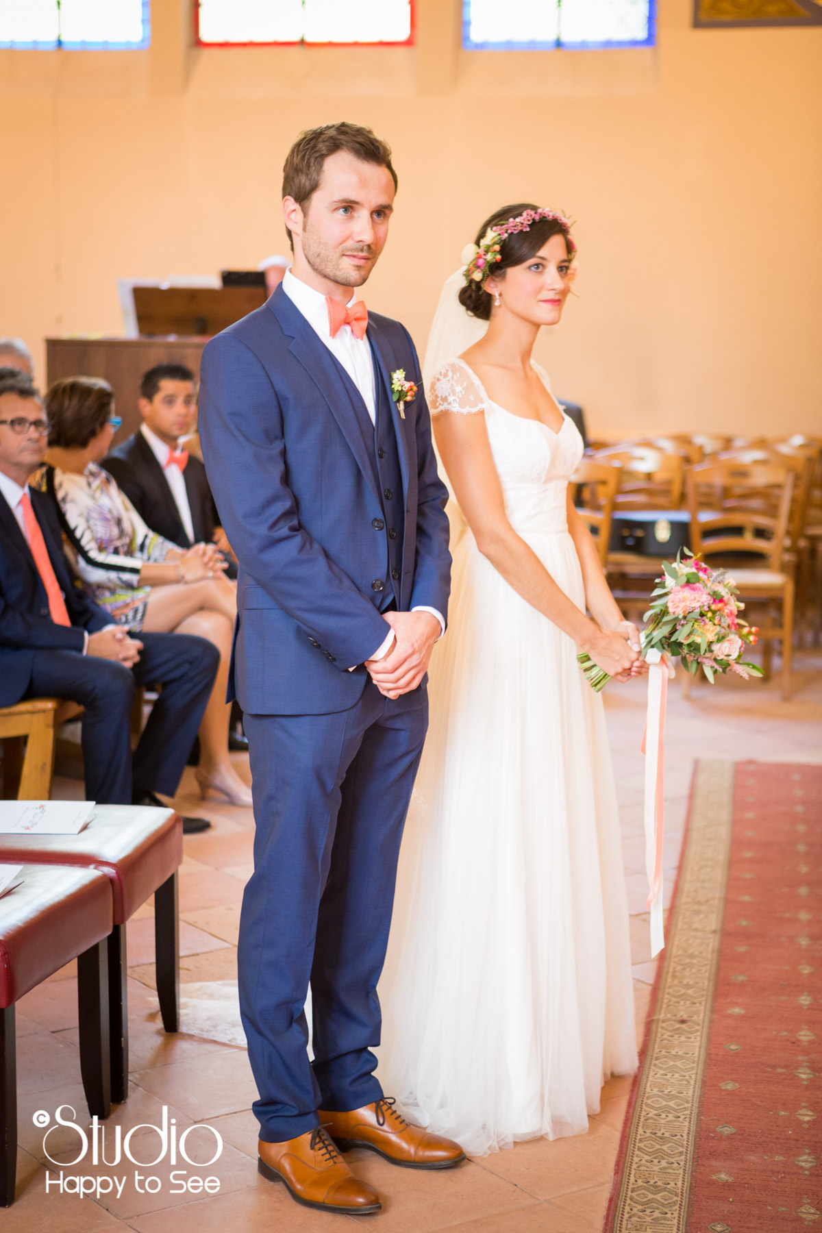 reportage mariage arcachon Eglise notre dame des passes