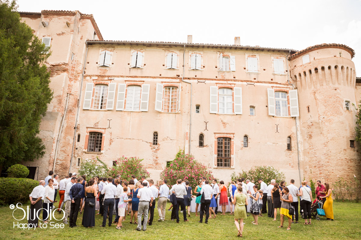 Mariage au chateau de saint gery