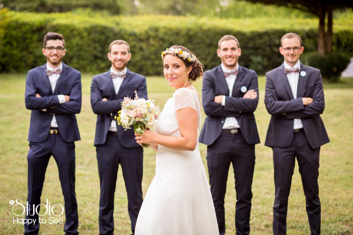 Joli mariage au chateau de saint gery