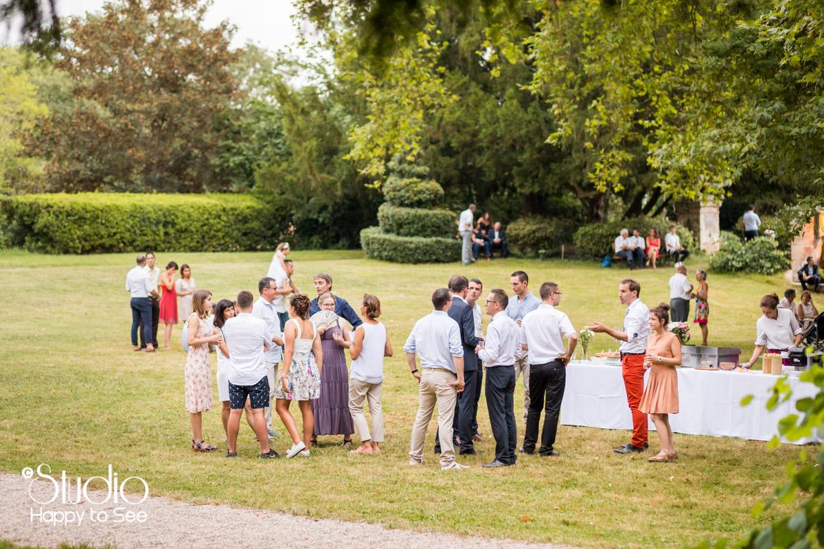 Reportage mariage Tarn Chateau de saint gery