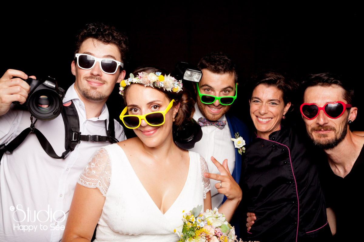 Photomaton mariage