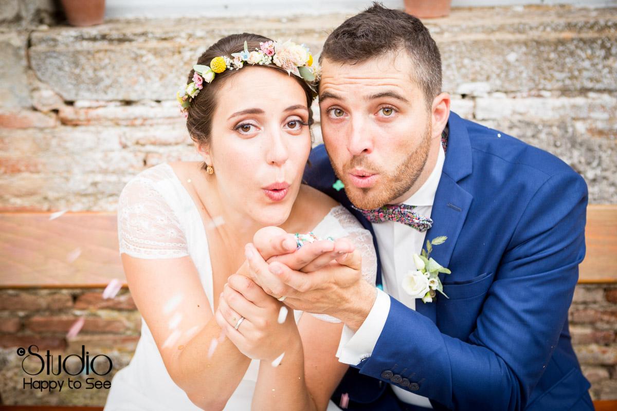 Mariage authentique et champetre dans le Tarn