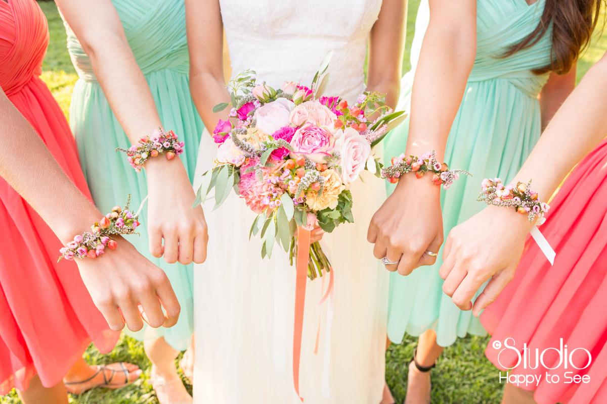 mariage arcachon dress code mint menthe et corail