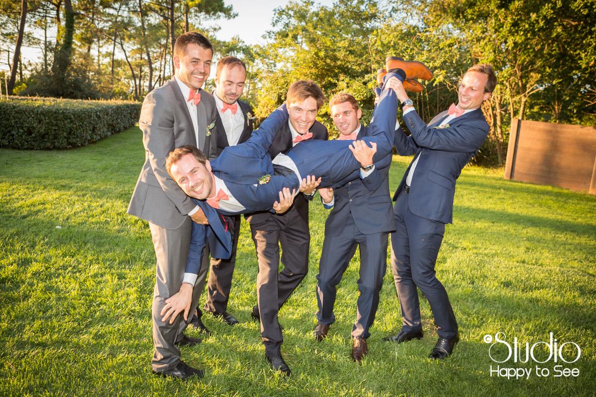 mariage au tir au vol arcachon dress code temoins