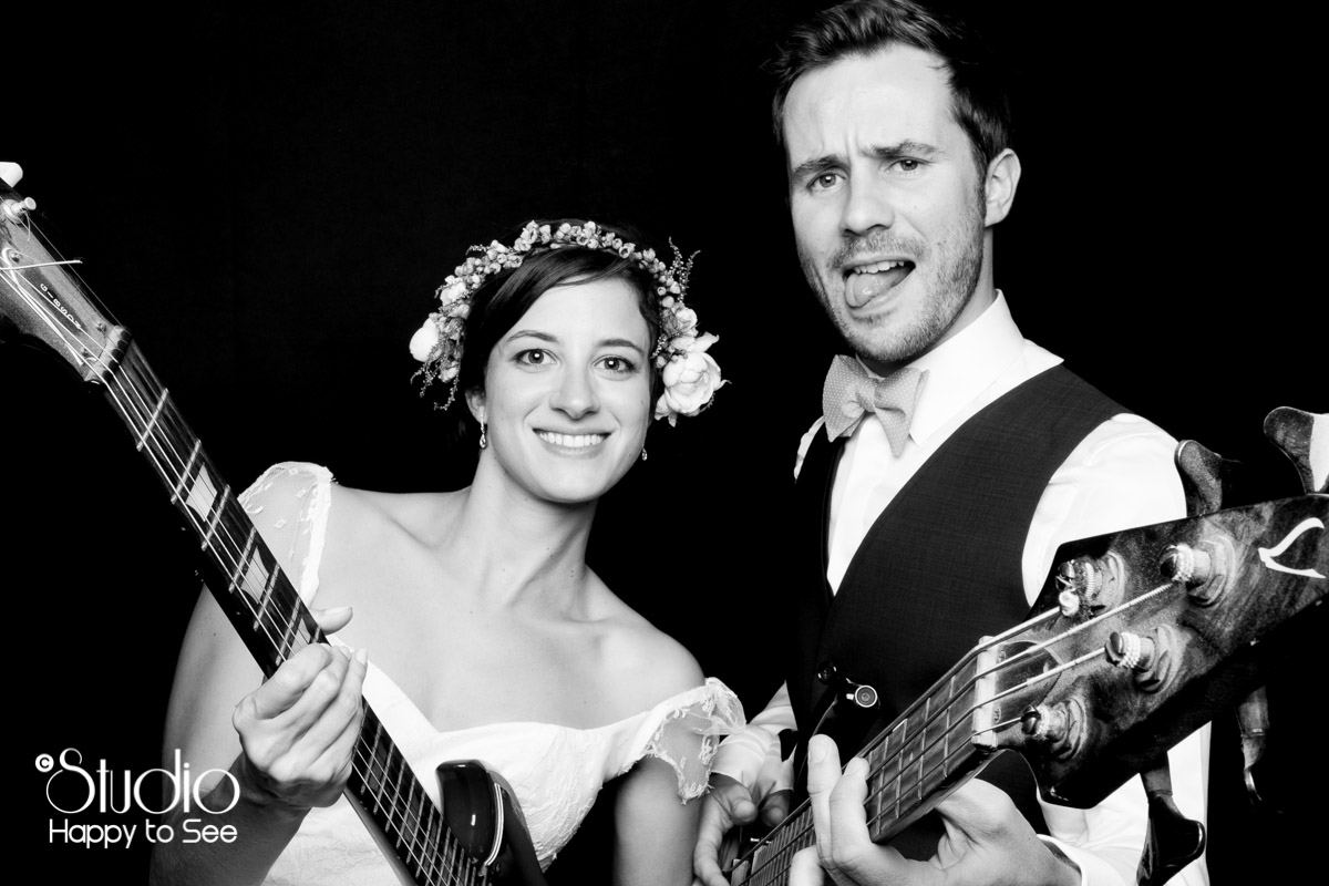 Photobooth mariage rock n roll