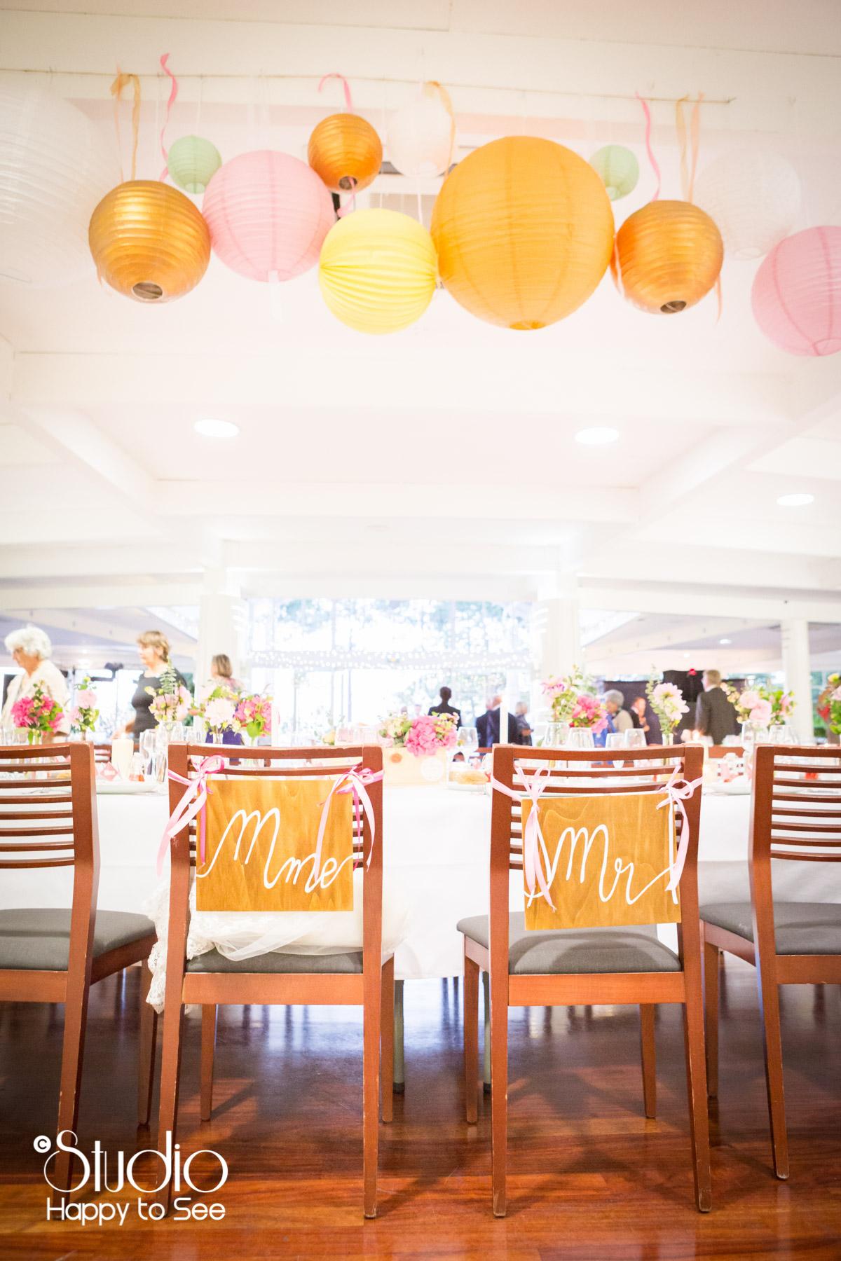 mariage salle tir au vol decoration table lanterne chinoise
