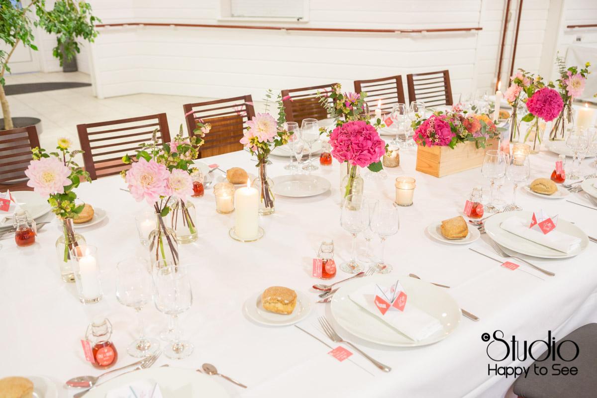 mariage salle tir au vol decoration table elegante