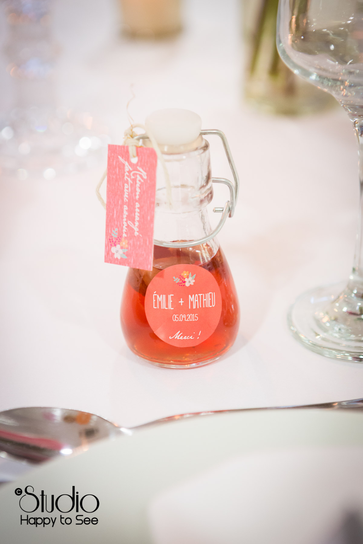 mariage salle tir au vol decoration table cadeau invite