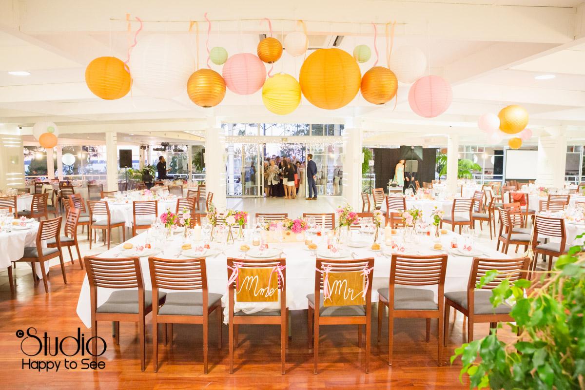 mariage salle tir au vol decoration table