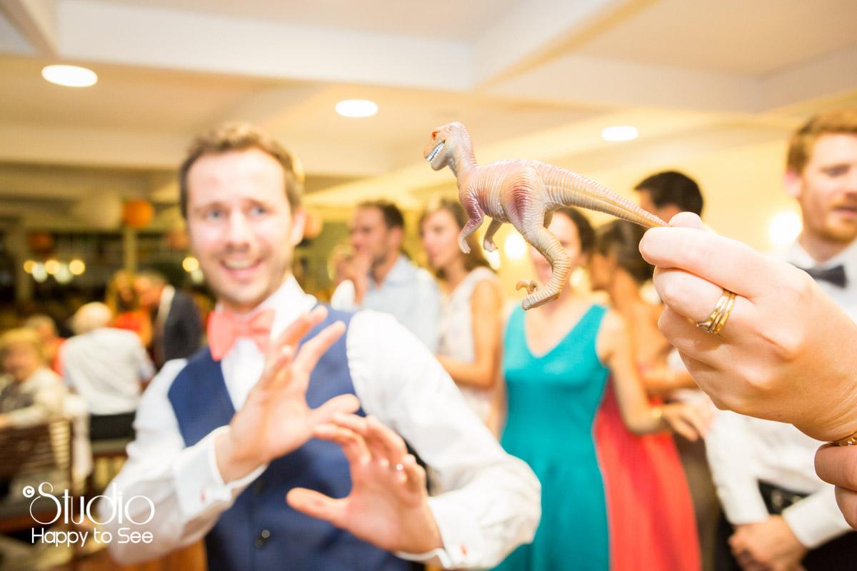 mariage salle tir au vol arcachon soiree geek T-rex
