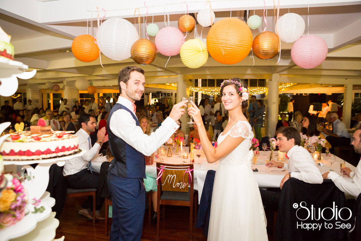 mariage salle tir au vol arcachon soiree dessert