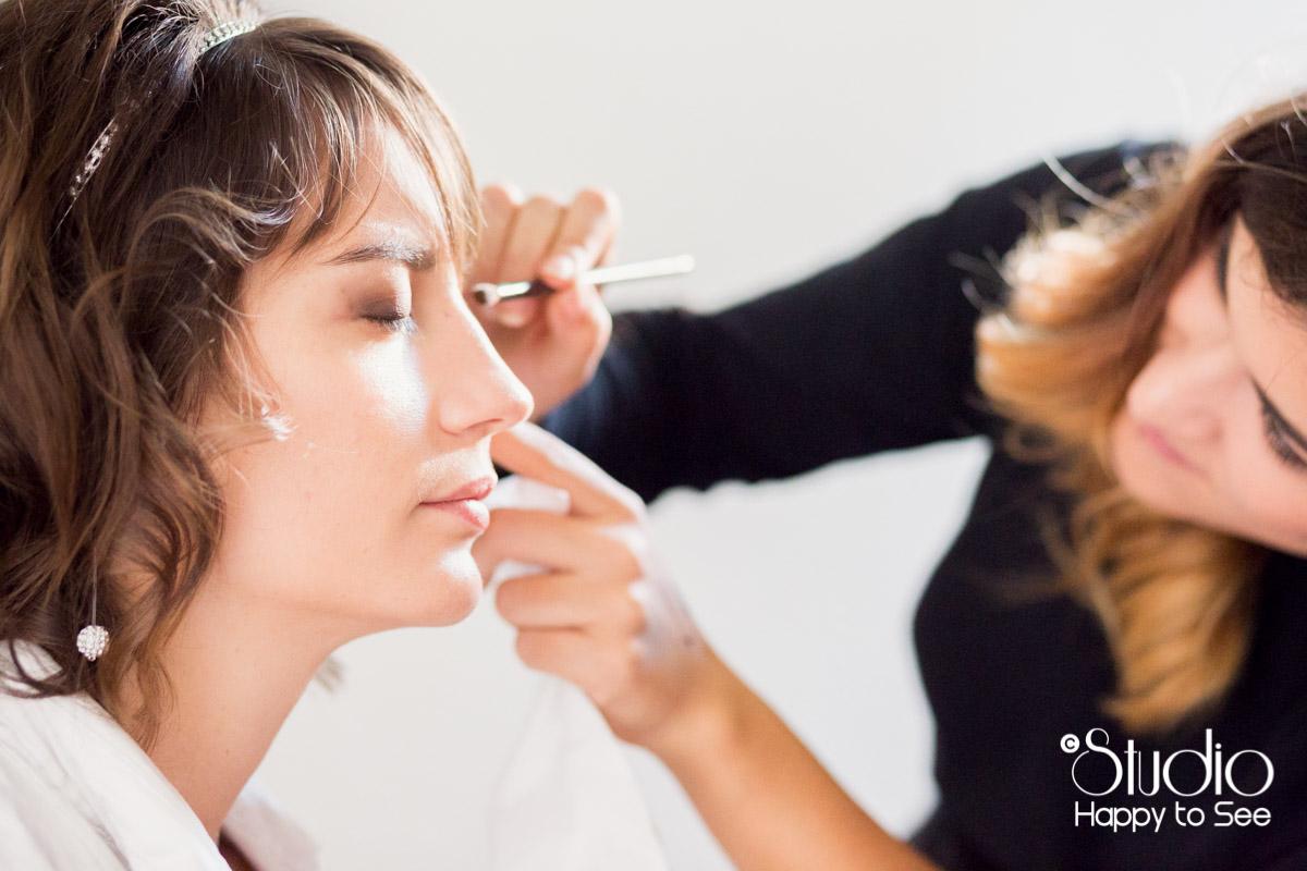 Preparatifs mariage hotel du Taur Toulouse maquillage