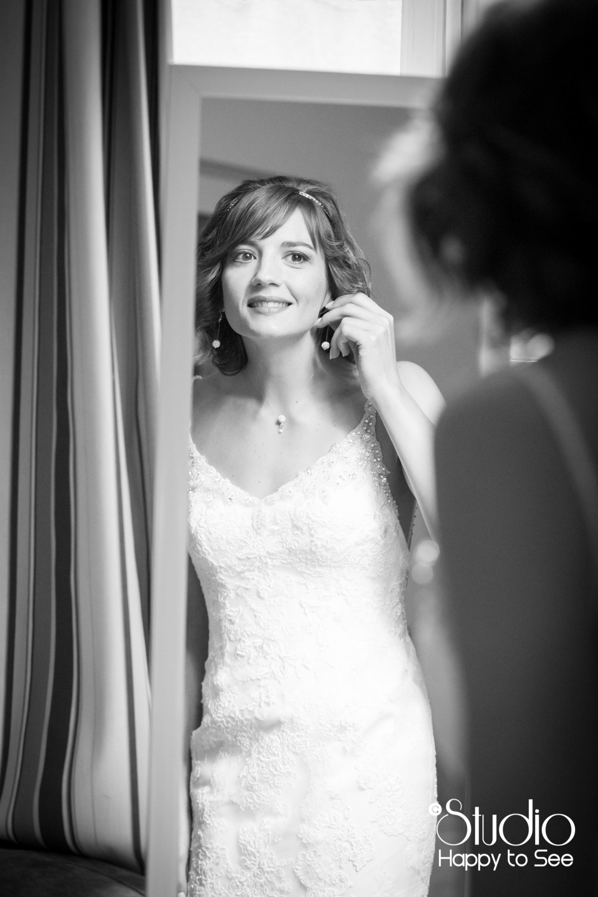 Preparatifs mariage hotel du Taur Toulouse robe de mariee Pronovias