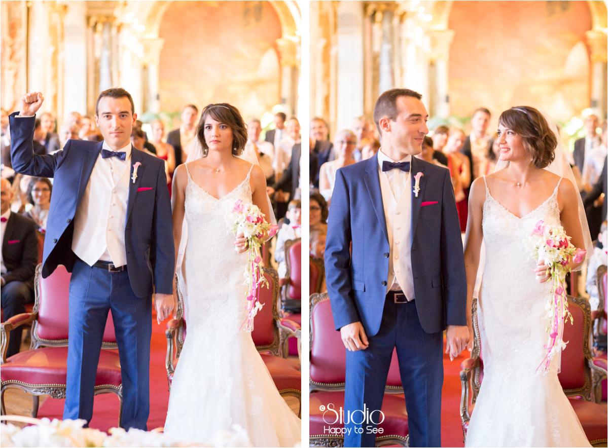 Mariage mairie du capitole toulouse salle des illustres