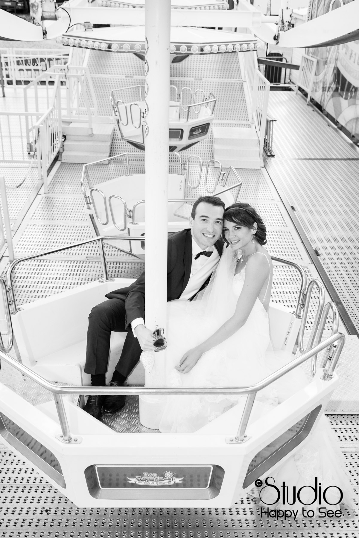 seance photo couple Mariage grande roue toulouse
