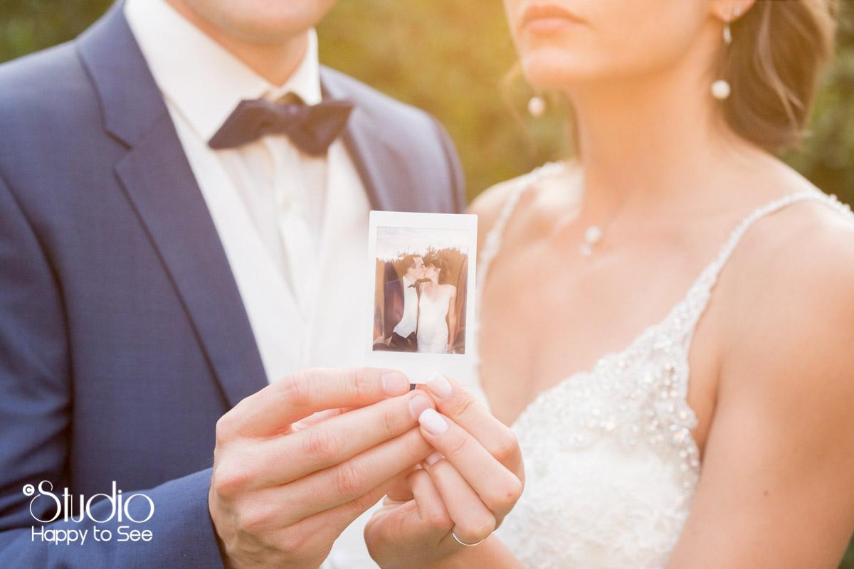 Mariage colore toulouse polaroid