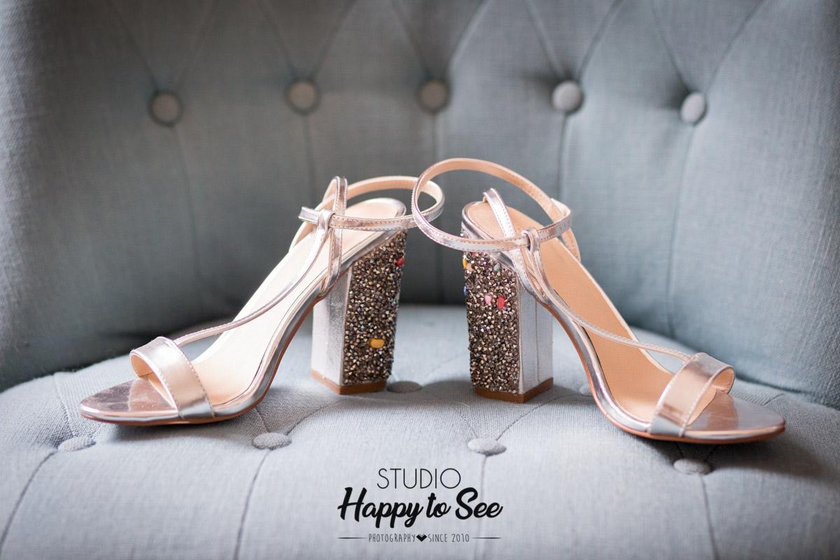 Photographe Mariage Reportage Preparatifs Chaussures De La Mariee