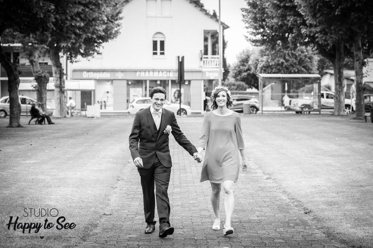 Reportage mariage Pau mairie bizanos