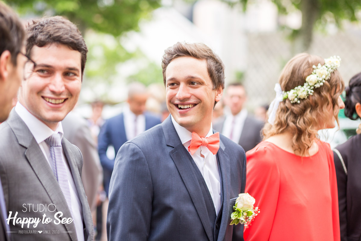 Reportage mariage mairie bizanos