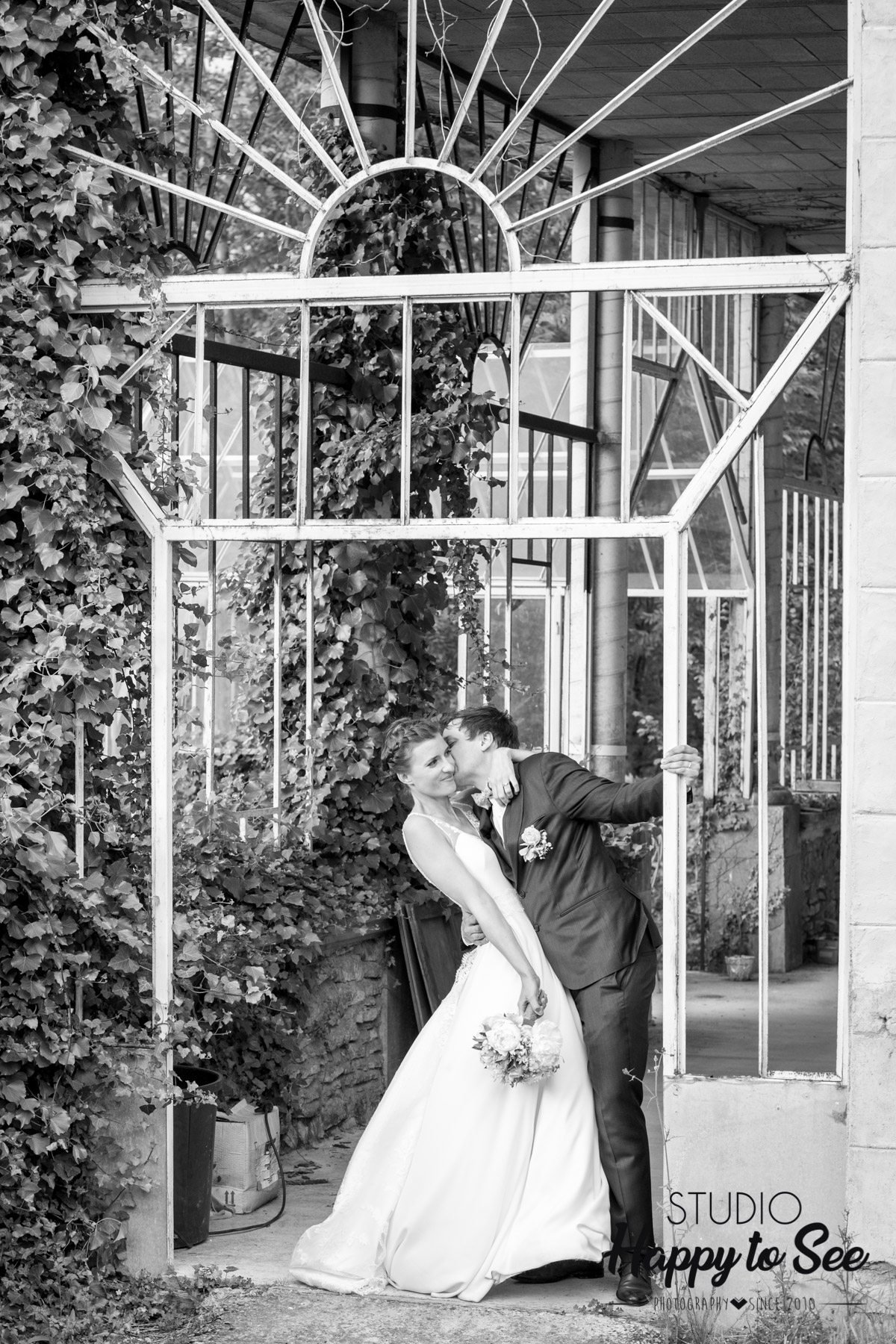 seance photo couple mariage au domaine de Lucain Pau