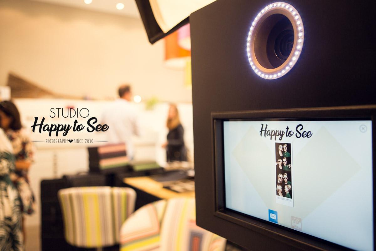 Photobooth tropicool opticien Les Lunettes d'Agnes Montauban