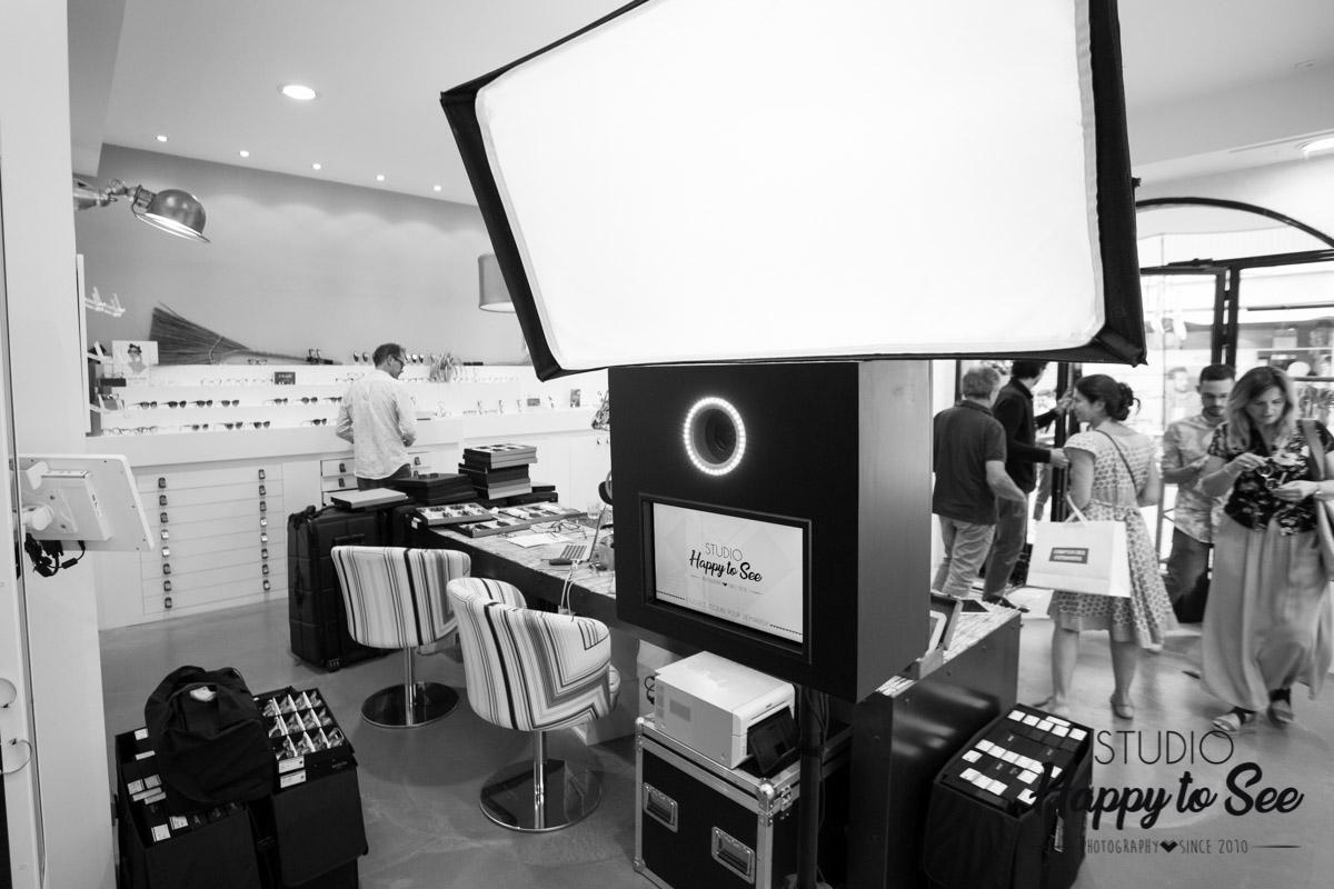 Photobooth opticien Les Lunettes d'Agnes Montauban