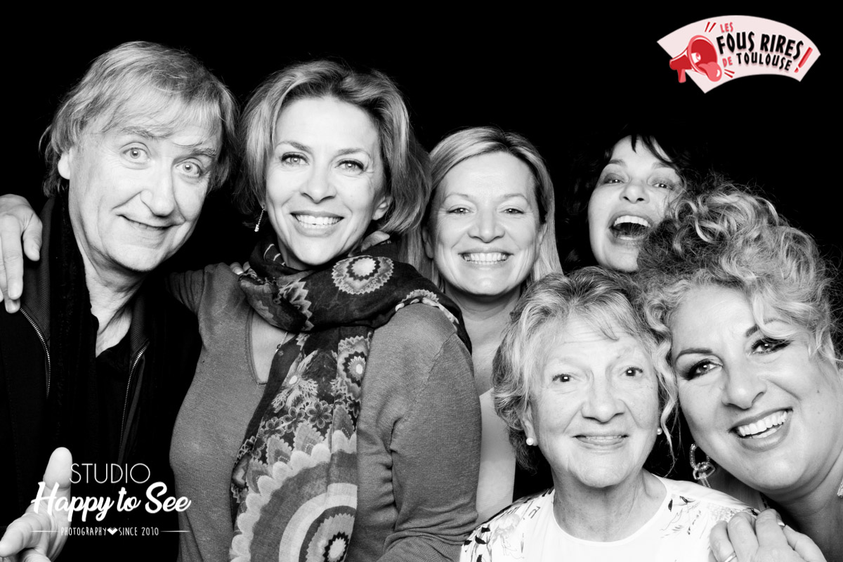 Photobooth Celebrite stars Plantu marianne james