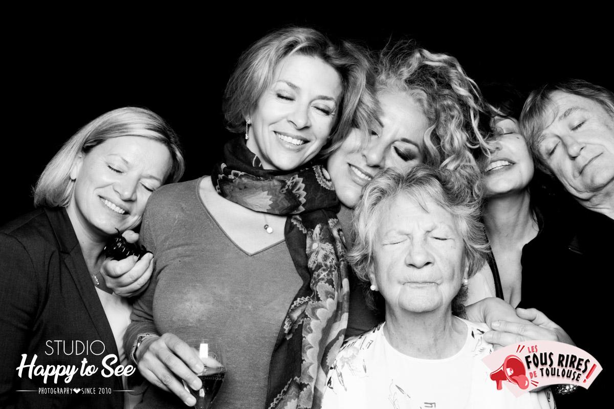Photobooth Celebrite stars Plantu marianne james
