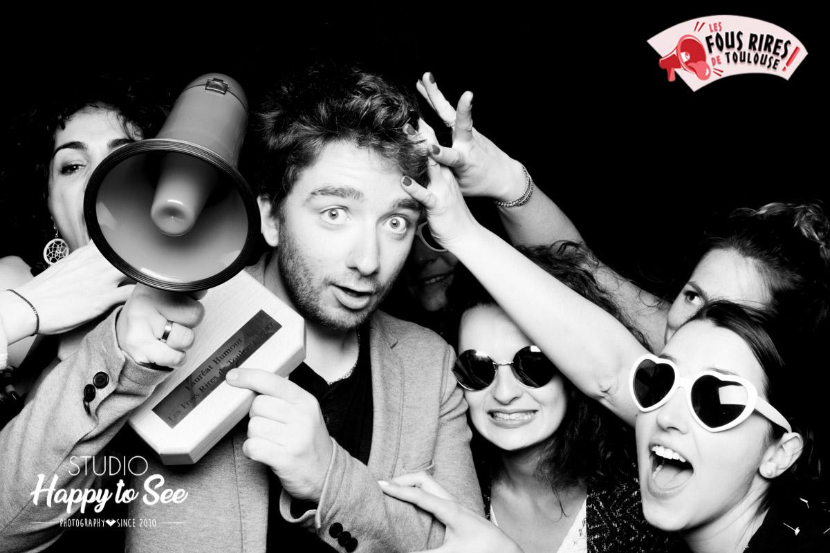 Photobooth Les fous Rires de Toulouse