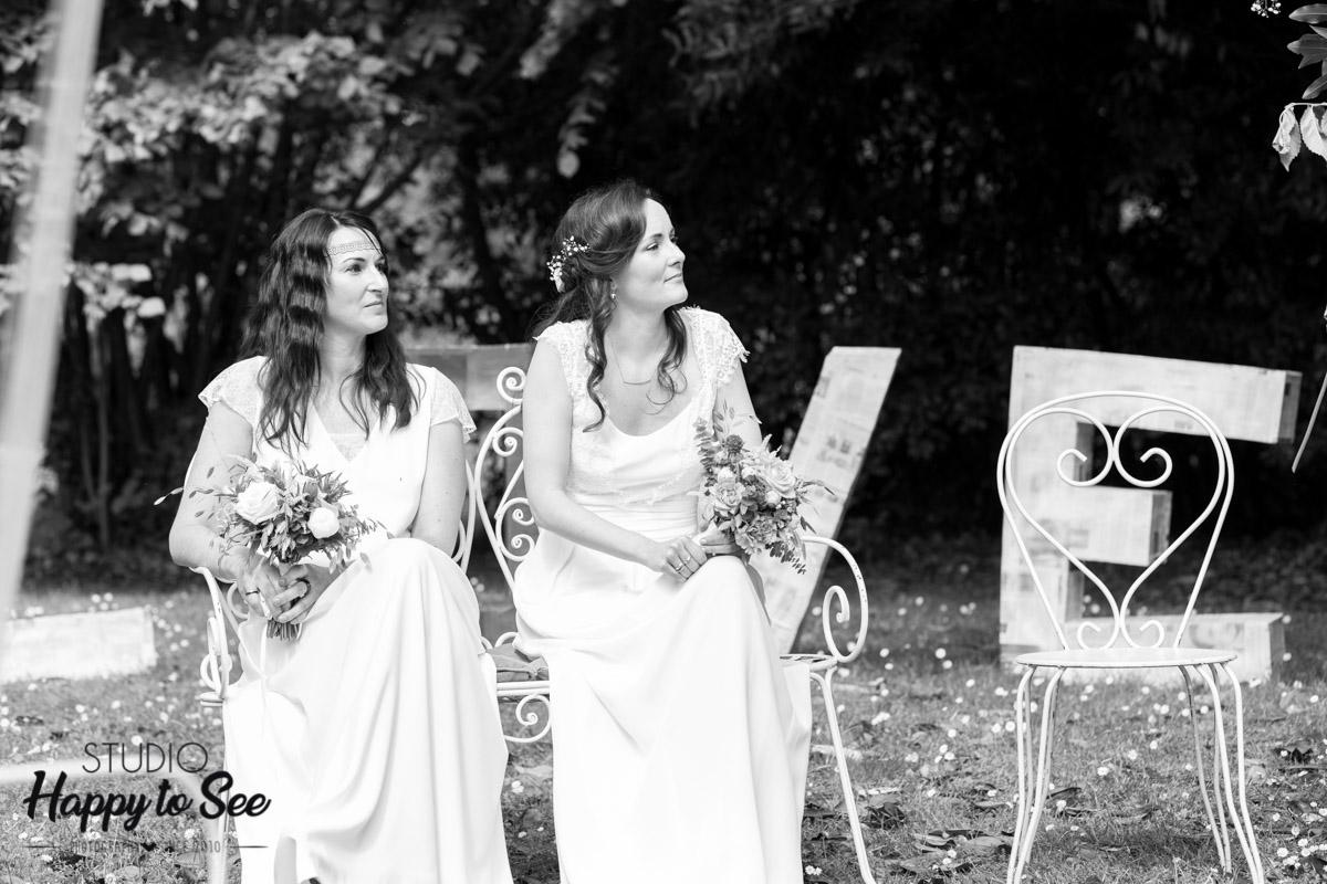 mariage lesbien ceremonie laique chateau ariege