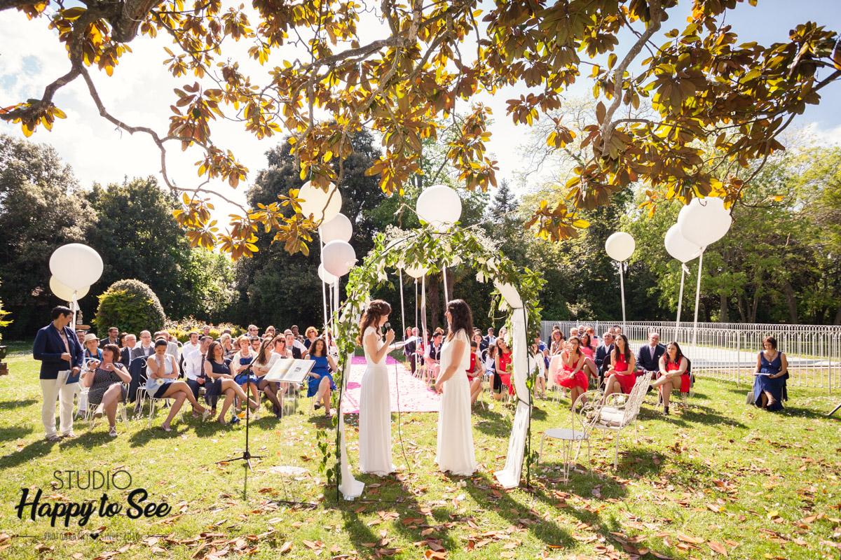 mariage lesbien ceremonie laique ariege