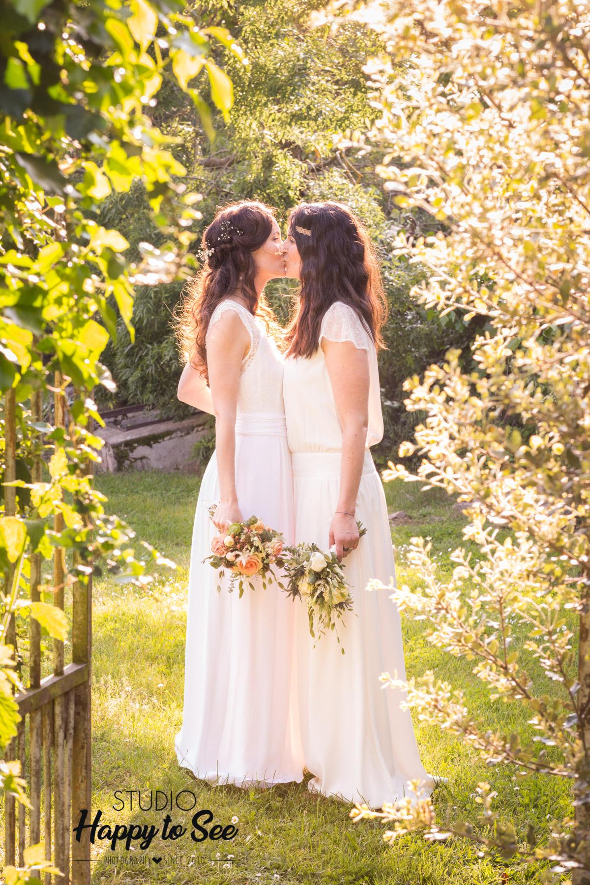 mariage champetre lesbien en ariege