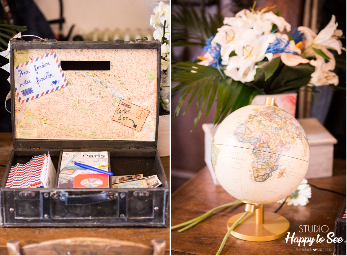 decoration mariage voyage