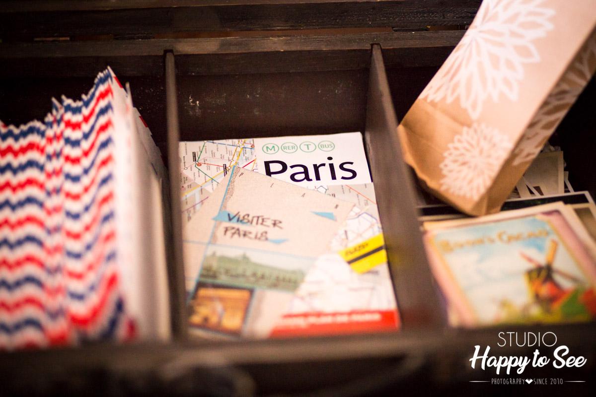 decoration mariage voyage paris