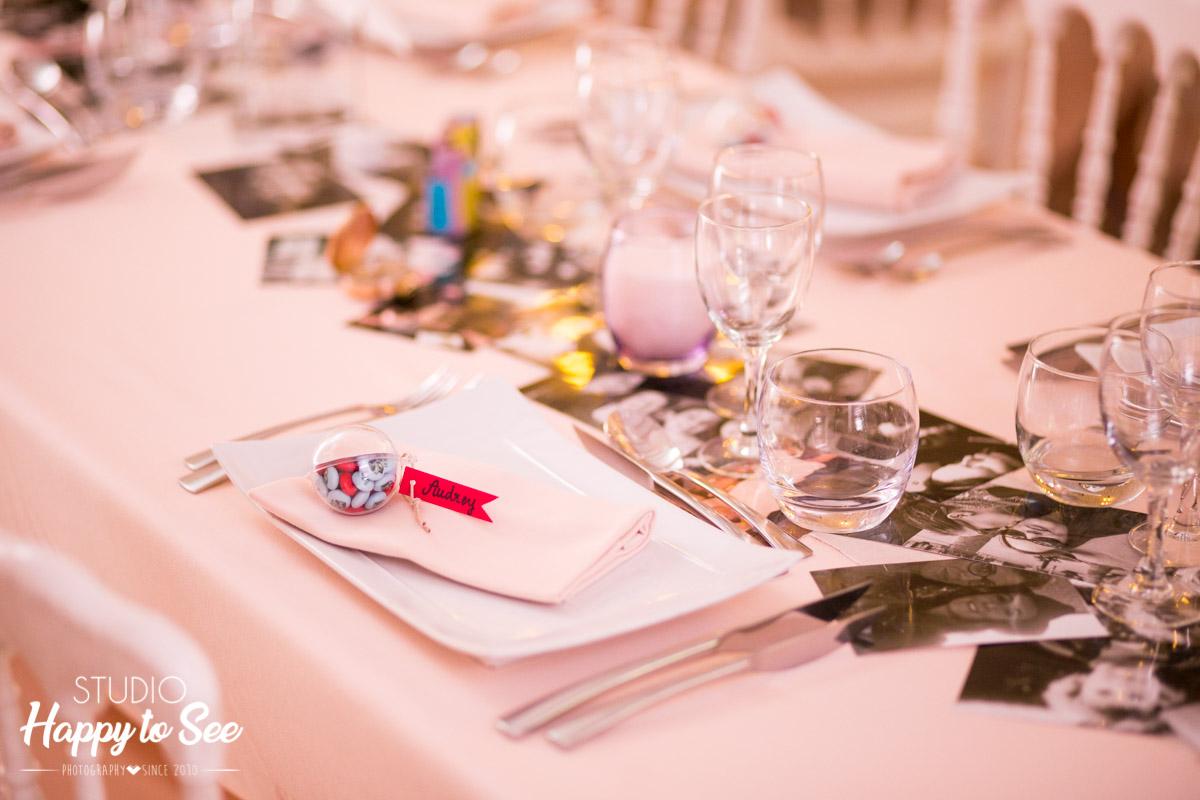 decoration table mariage chateau de riveneuve à pamiers en ariege
