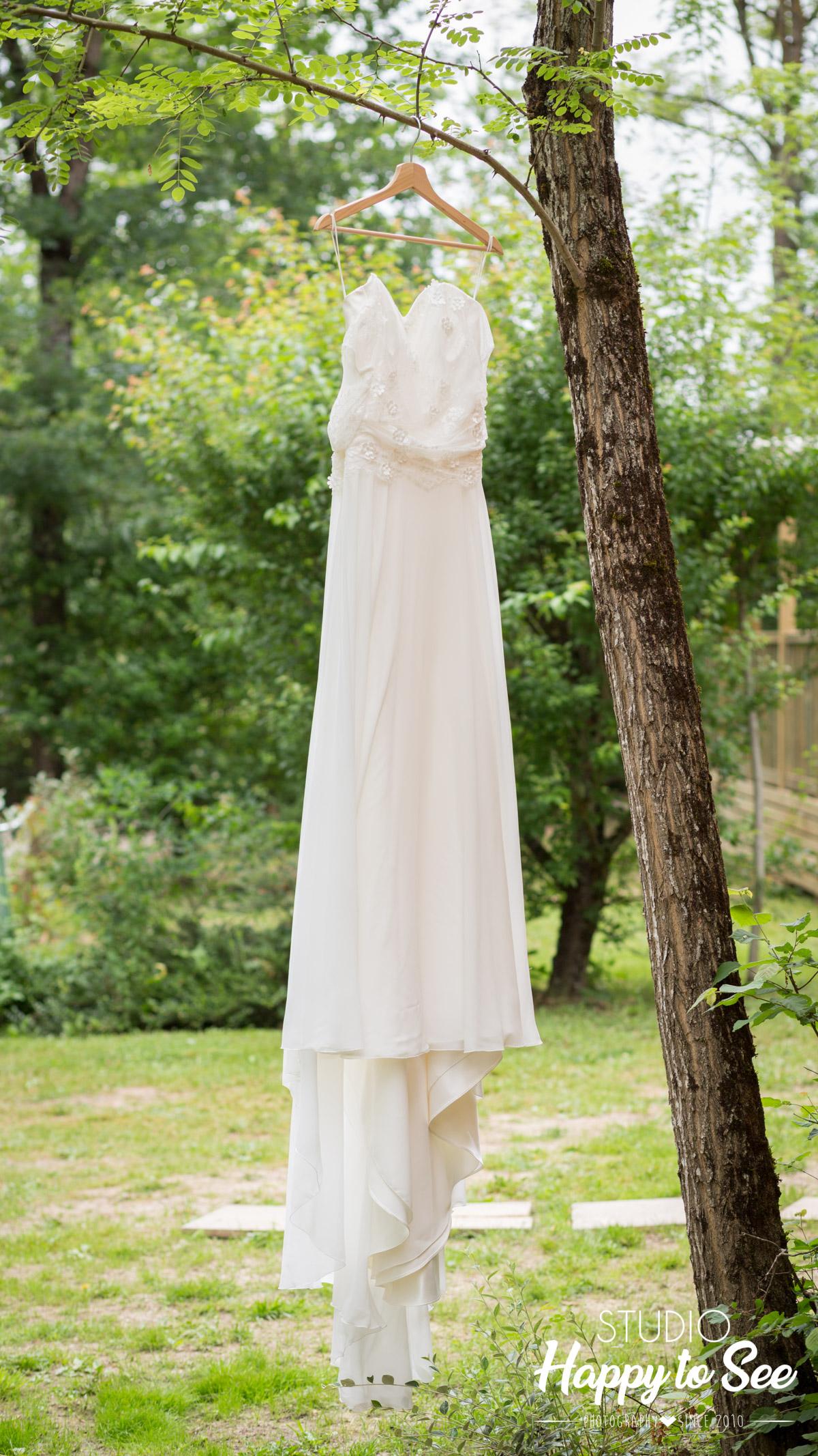 mariage domaine de la teouliere robe de mariee