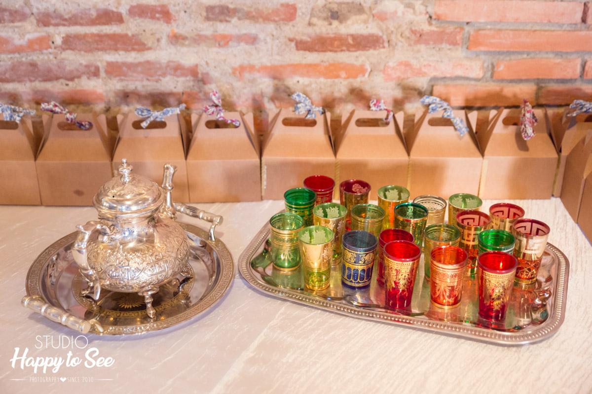 service de the mariage oriental