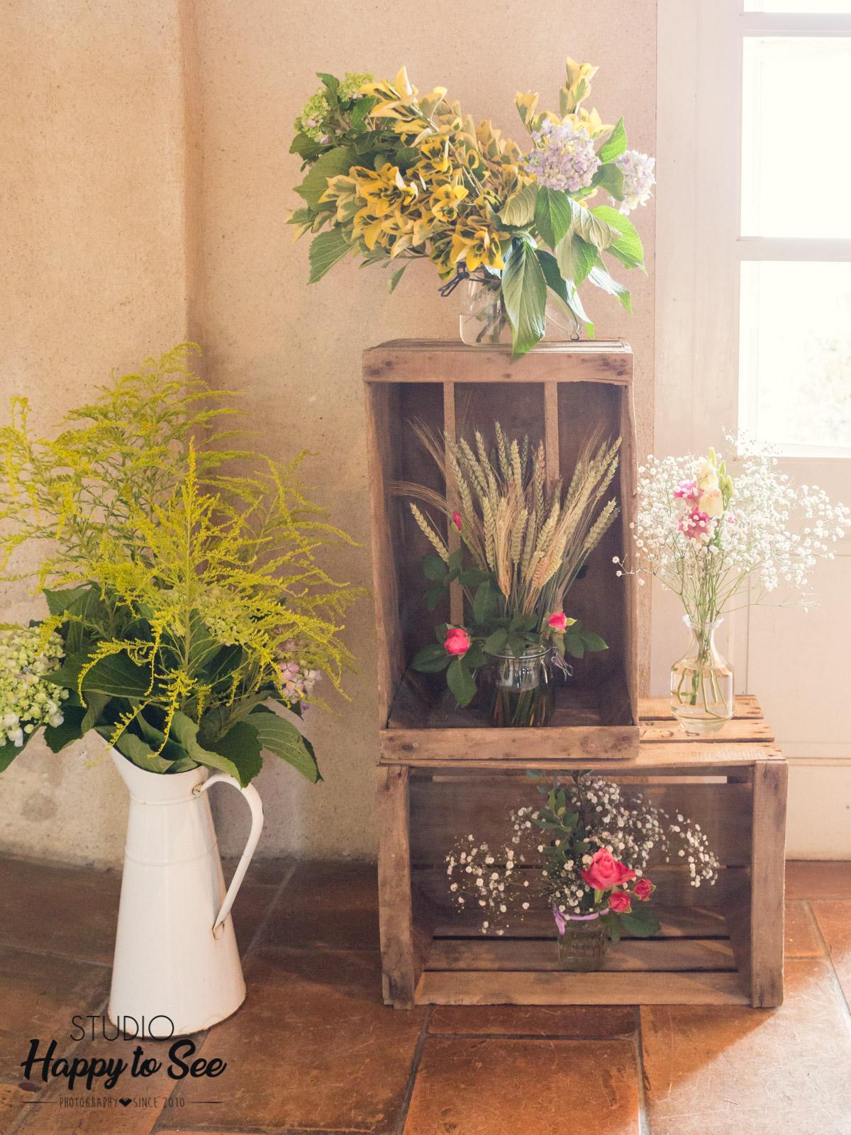 decoration mariage champetre lily et confettis