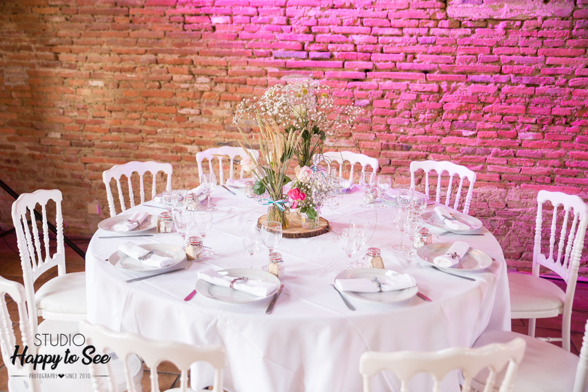 decoration champetre table mariage