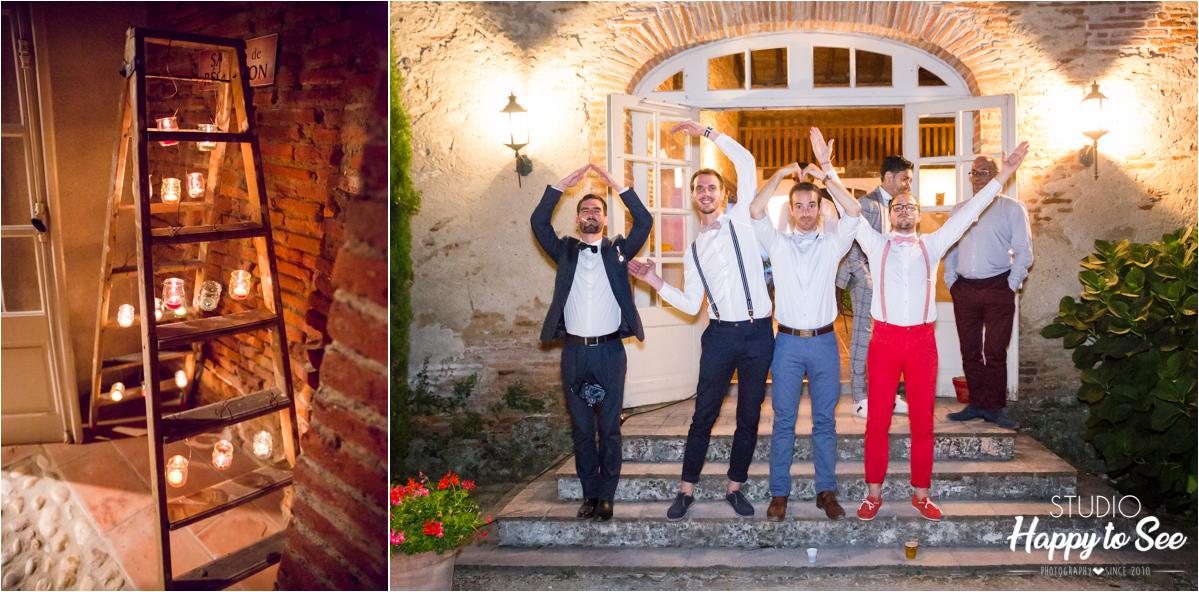 reportage soiree mariage chateau de merville