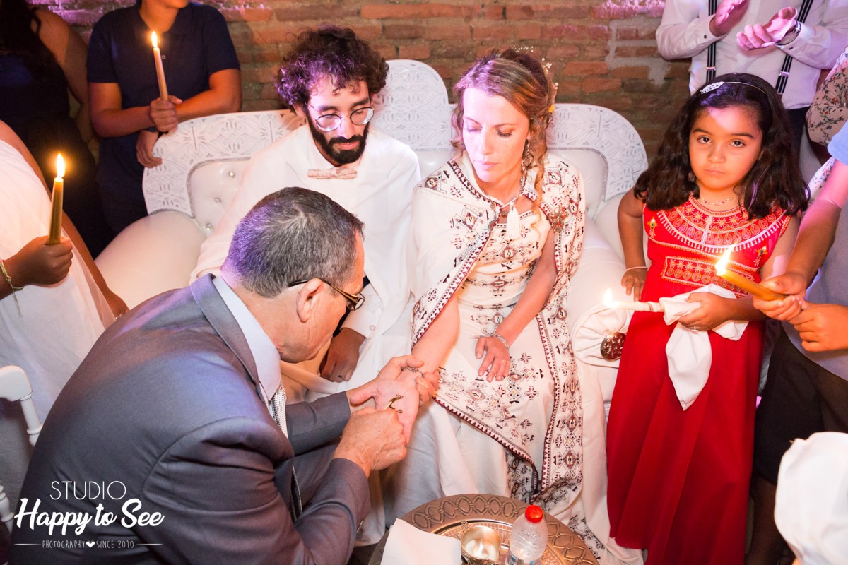 ceremonie du henne mariage mixte oriental